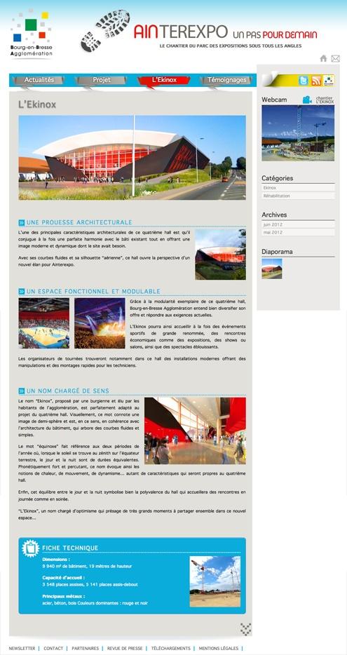 webdesign d'un site responsive