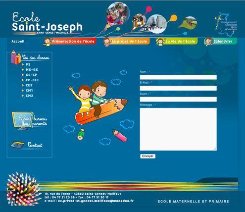 site web pour école
