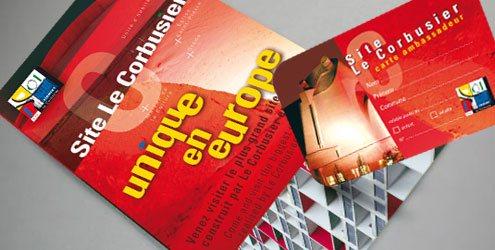 tract promotionnel et carte d'abonnement