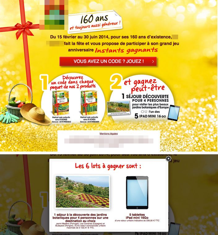 graphisme opération marketing online