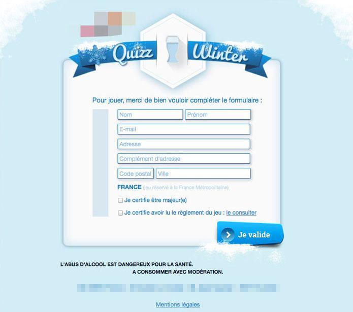 webdesign formulaire