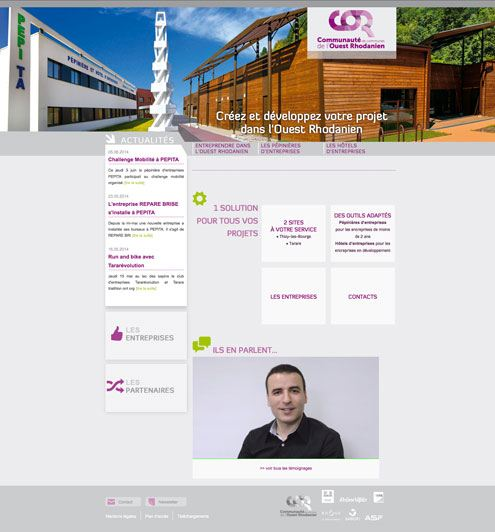 web design pour site internet pour entreprises