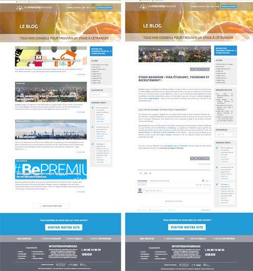 webdesign de blog wordpress