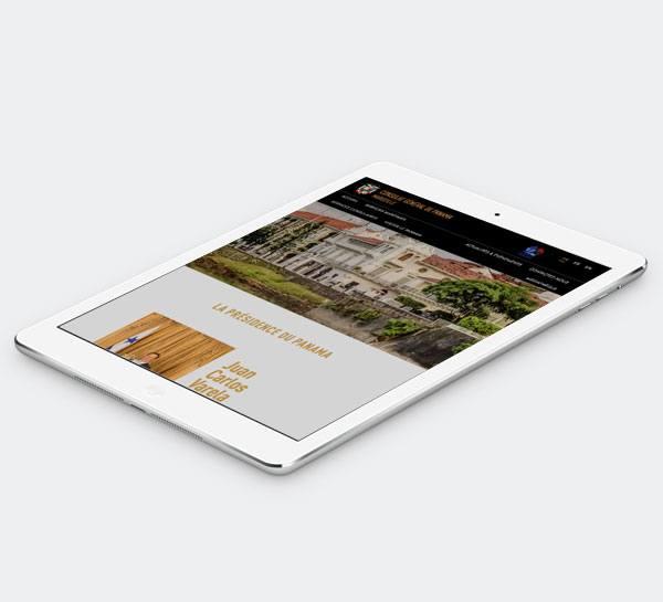 site internet responsive design adapté aux tablettes et mobiles