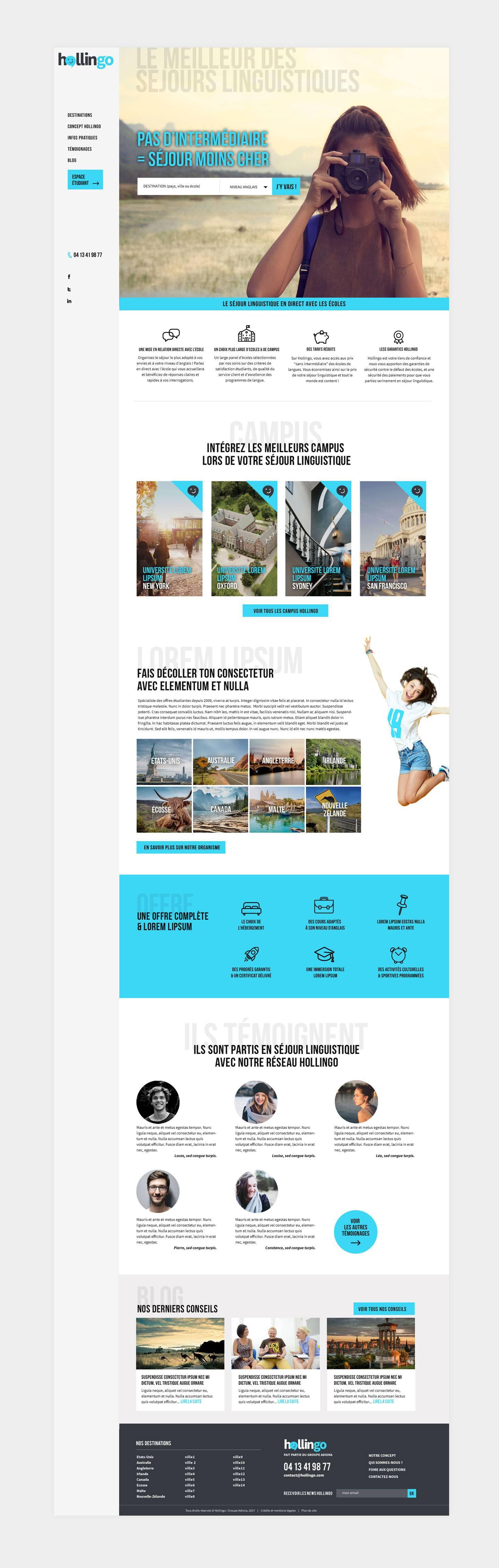 UX design de plateforme en ligne