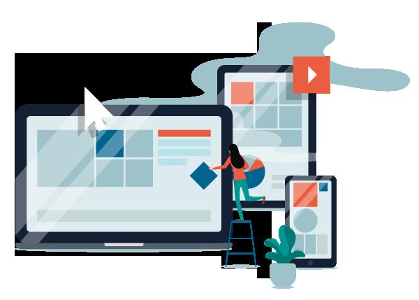 Conception du site web Responsive Design